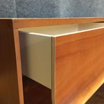 Image of Blue Dot One Drawer Nightstands - A Pair
