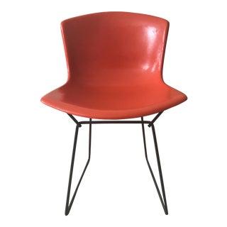 Harry Bertoia Orange Fiberglass Chair