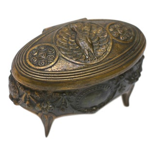 Art Nouveau Jewelry Box