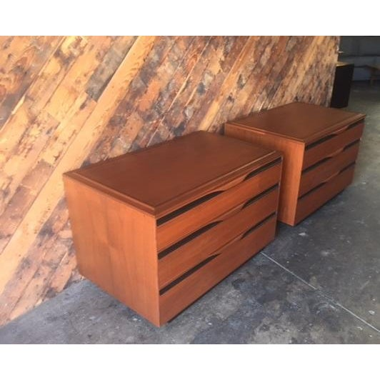 Mid-Century Dressers by John Kapel - Pair - Image 7 of 7