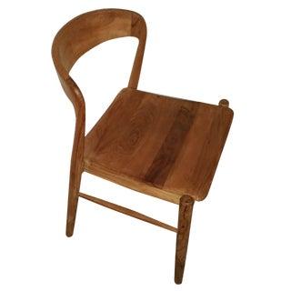 Theodore Mid-Century Modern Teak Side Chair