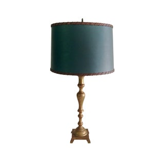 Solid Brass Table Lamp