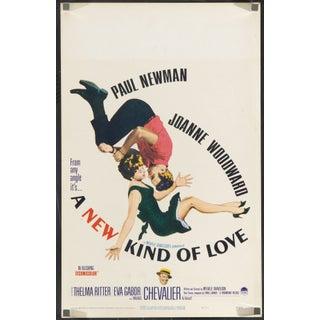 """A New Kind of Love"" 1963 Film Poster"