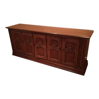 Heritage Buffet Carved Wood