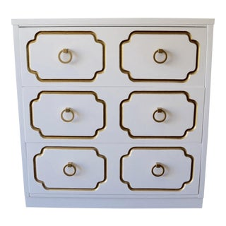 1960s Mid-Century Hollywood Regency Dorothy Draper Inspired Chest