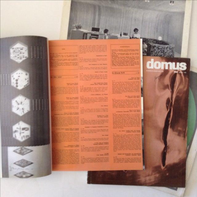 Mid-Century Domus Magazines- Set of 4 - Image 5 of 6