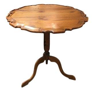 Habersham Plantation Pie Crust Tilt Top Table