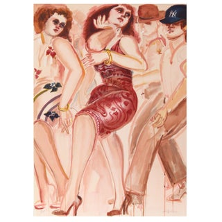Lester Johnson - New York Dancers 5 Lithograph