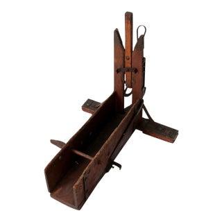 Antique Wood Bender Woodworking Tool