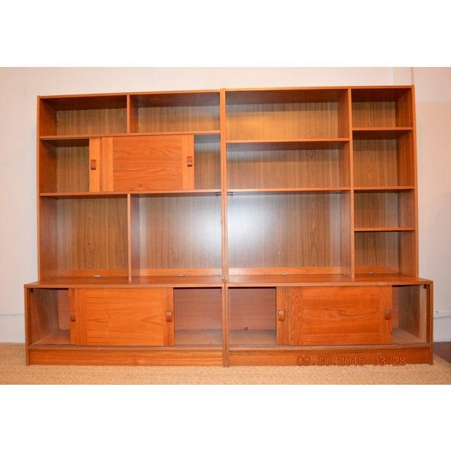 2-Piece Danish Modern Bookcase - Image 3 of 10
