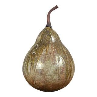 Steven Forbes-deSoule Raku Fired Pear