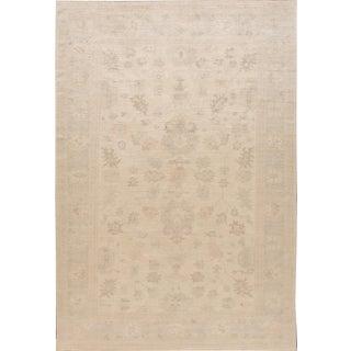 """Apadana - Modern Oushak Style Rug, 9' x 11'7"""""""