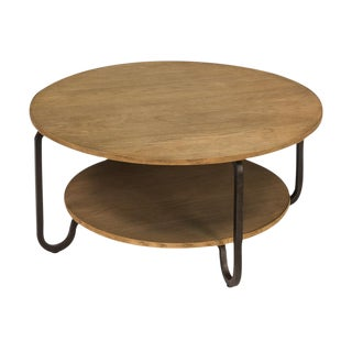Sarreid Ltd Hamilton Round Coffee Table
