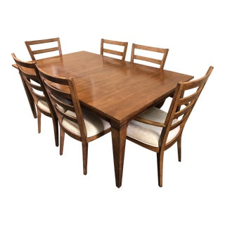 Ethan Allen Dining Set, Six Chairs