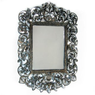 Rectangular Handcut Glass Mirror