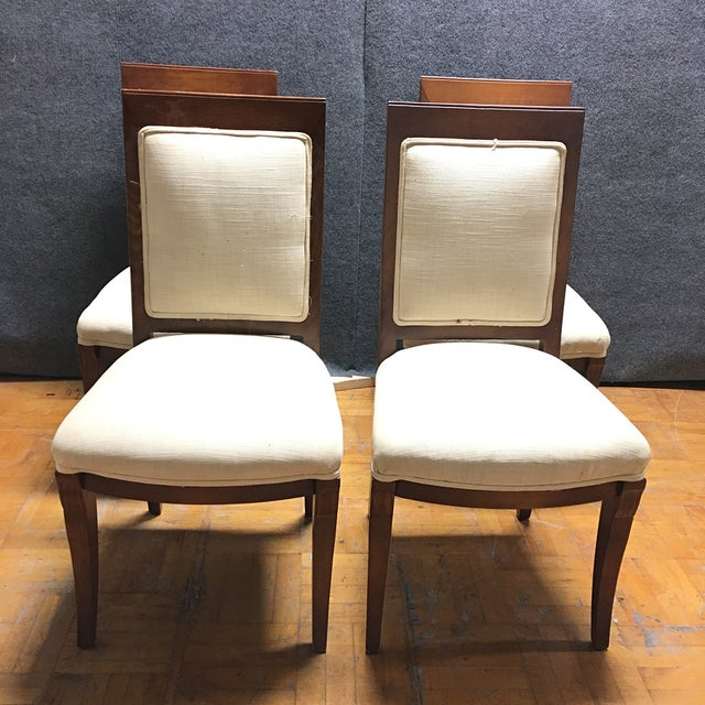 Meyer Gunther Martini Dining Chairs - Set of 4 - Image 7 of 8