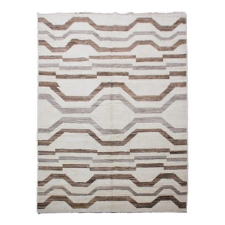 "Hand Knotted Navajo Rug by Aara Rugs In. - 5'11"" X 9'2"""