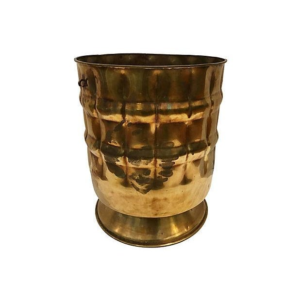 Image of Brass Planter