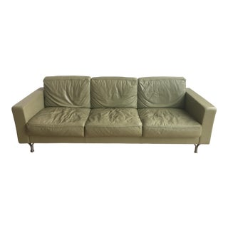 Poltrona Frau Light Green Sofa