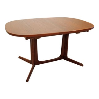 Mid-Century Danish Modern Gudme Mobelfabrik Extension Teak Dining Table #3