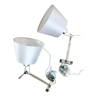 Artemide Tolomeo Shaded Wall Lights - A Pair
