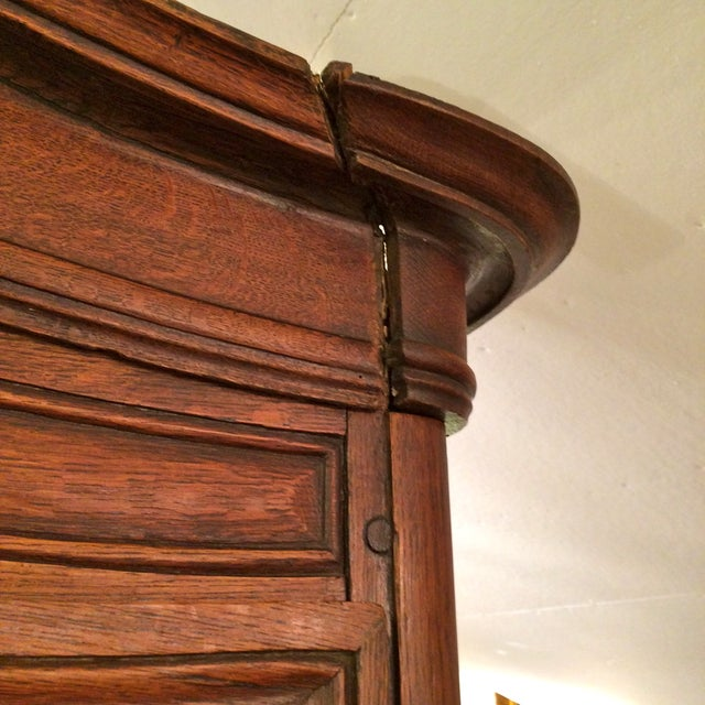 French Provincial Antique Buffet - Image 5 of 8