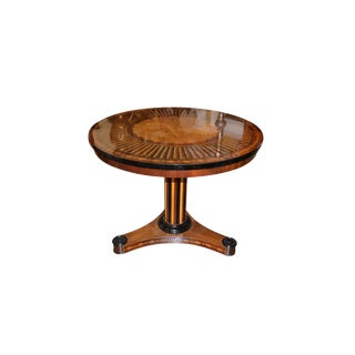 Biedermeier Occasional Table