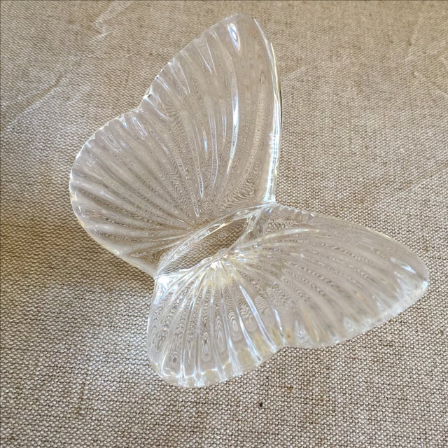Vintage Crystal Butterfly - Image 2 of 11