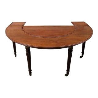 Early 19th Century English Regency Mahogany Social Table Attributed to Gillows