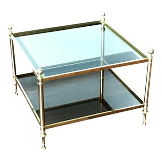 Vintage Maison Brass Coffee Table