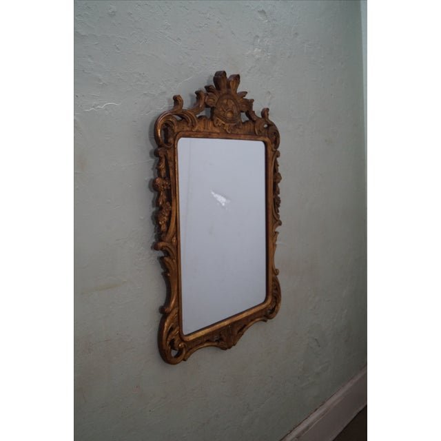 French Louis XV Gold Gilt Carved Wood Frame Mirror - Image 2 of 10