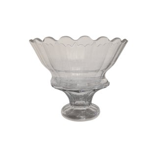 American Pressed Glass Punch Bowl