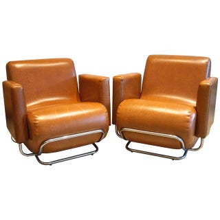 Italian Modern Club Chairs