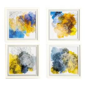 Abstract Mia Wall Art - Set of 4