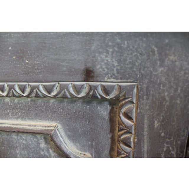 Country French Distressed Corner Cabinet - Image 9 of 11