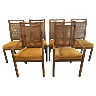 Heritage Faux Bamboo Dining Chairs - Set of 6