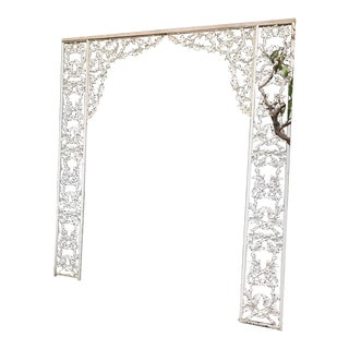 Shabby Chic Cast Iron Trellis
