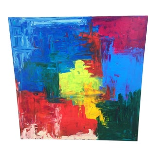Colorful Extra Large Abstract Artwork