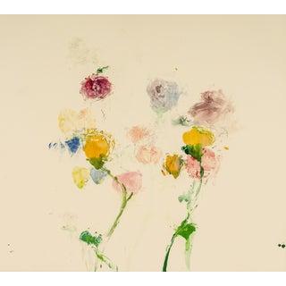Think of Blooming 4, 2002, Monoprint by Susan Hambleton.