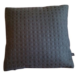 Maharam Kvadrat Highfield & Gray Divina Wool Pillow Cover