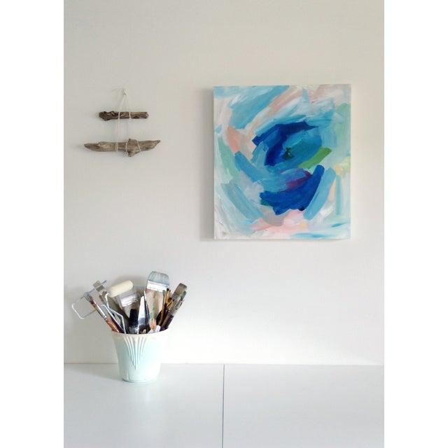 "Dani Schafer ""Hyacinthe"" Original 2014 Painting - Image 4 of 4"