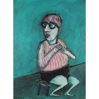 1981 Kjell Erik Killi Olsen Self Portrait Painting