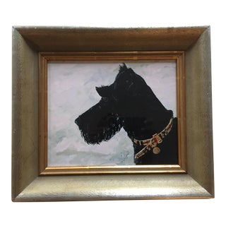 Scottie Dog Print by Judy Henn