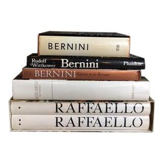 Large Italian Art Books - Set of 6