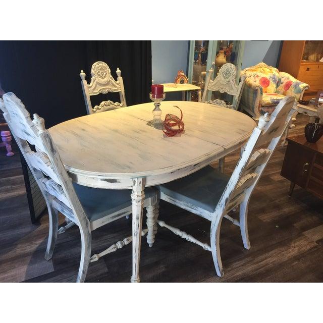 Image of Shabby Chic Dining Set