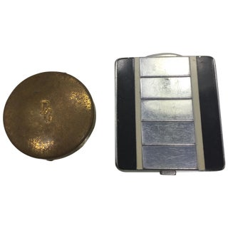 Tiny Vintage Dorothy Gray Compacts