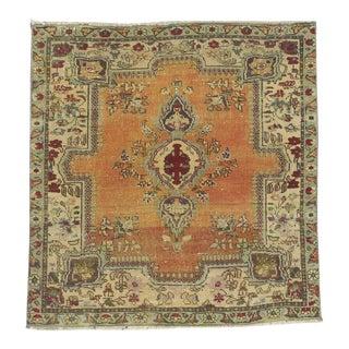 Vintage Persian Rug - 2′9″ × 2′11″