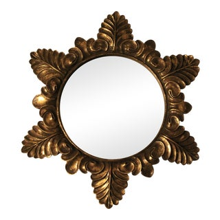 Gold Wall Mirror
