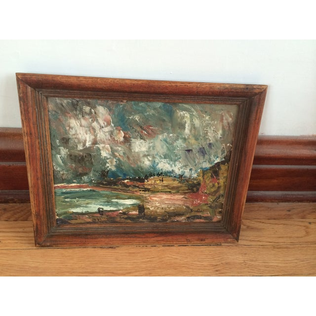 Wynn Breslin Landscape 1960s Oil Painting - Image 3 of 7