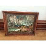 Image of Wynn Breslin Landscape 1960s Oil Painting